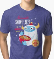 Abominable Snowflakes Tri-blend T-Shirt