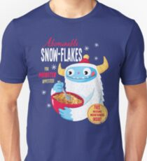 Abominable Snowflakes Slim Fit T-Shirt