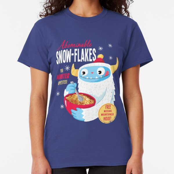 Abominable Snowflakes Classic T-Shirt