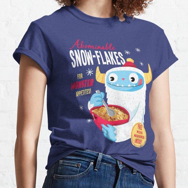Flocons de neige abominables T-shirt classique