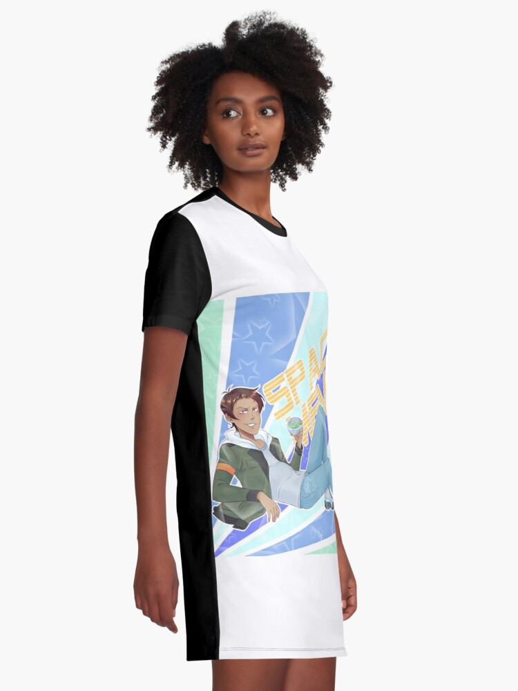 Alternate view of Lance Voltron legendary defender 2 Graphic T-Shirt Dress