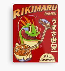 Rikimaru Ramen Hanamuras Best Metal Print