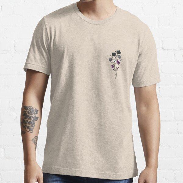 subtle ace pride flowers Essential T-Shirt