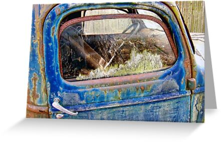Old Blue by LouiseK