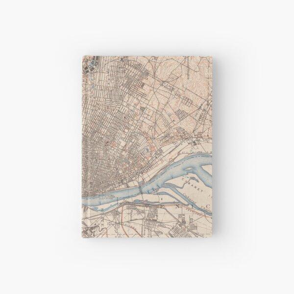 Vintage Map of St. Louis Missouri (1904) Hardcover Journal