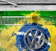 VW BRAZIL Sticker