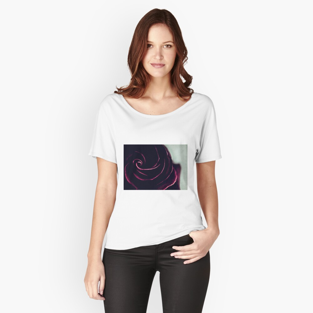 Rose Women's Relaxed Fit T-Shirt Front