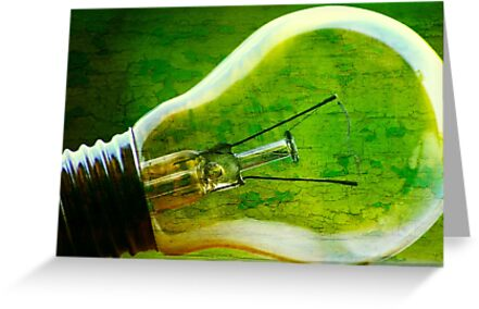 Light bulb by Ingrid Beddoes