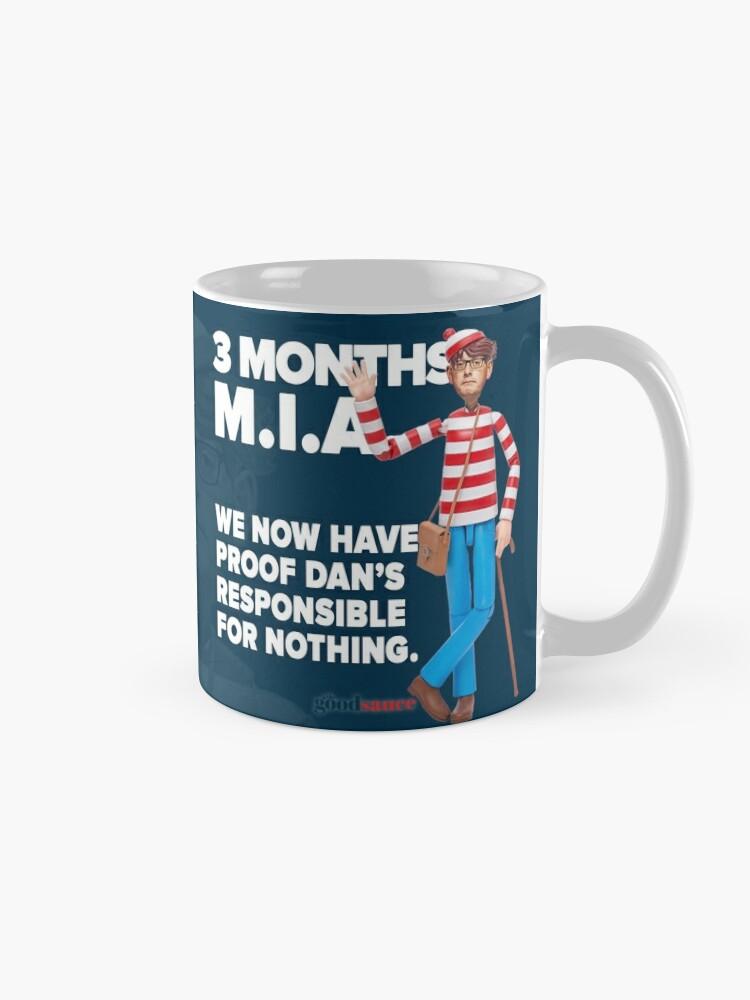 Alternate view of Daniel Andrews: 3 Months MIA Mug
