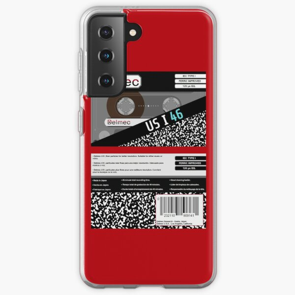 Delmec US I 46 Type 1 Cassette (front and back) Samsung Galaxy Soft Case