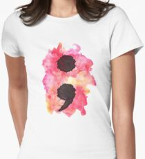 Project Semi Colon Women's Fitted T-Shirt