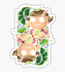 Girl Villager Sticker