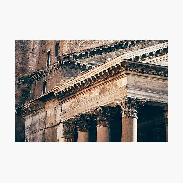 Pantheon detail Photographic Print