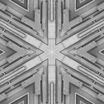 Monochrome Slats by JNathan