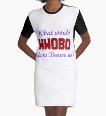 What would Olivia Benson do? WWOBD Graphic T-Shirt Dress