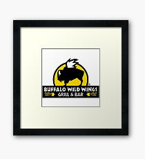 buffalo wild wings Framed Print