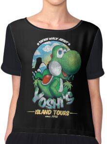 YOSHI'S ISLAND TOURS ! Chiffon Top