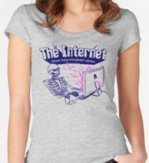 The Internet Women's Fitted Scoop T-Shirt
