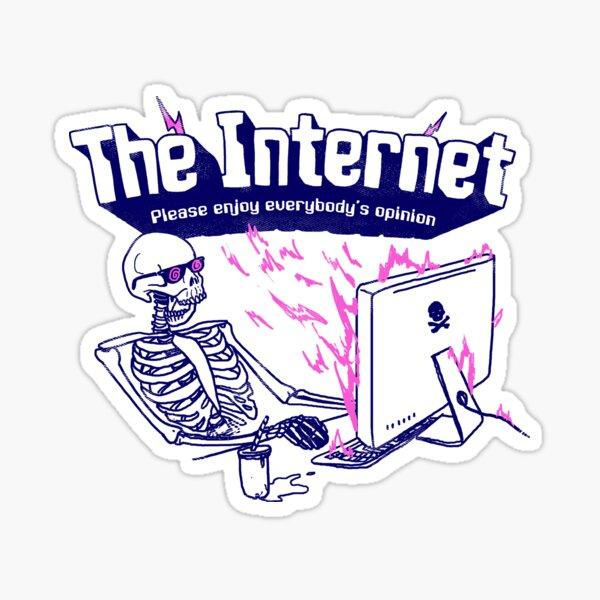 The Internet Sticker