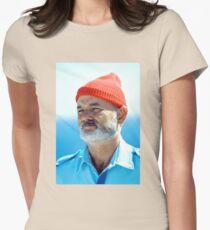 Bill Murray as Steve Zissou  Womens Fitted T-Shirt