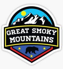Pegatina GATLINBURG TENNESSEE GREAT SMOKY MOUNTAINS NATIONAL PARK SMOKIES 5
