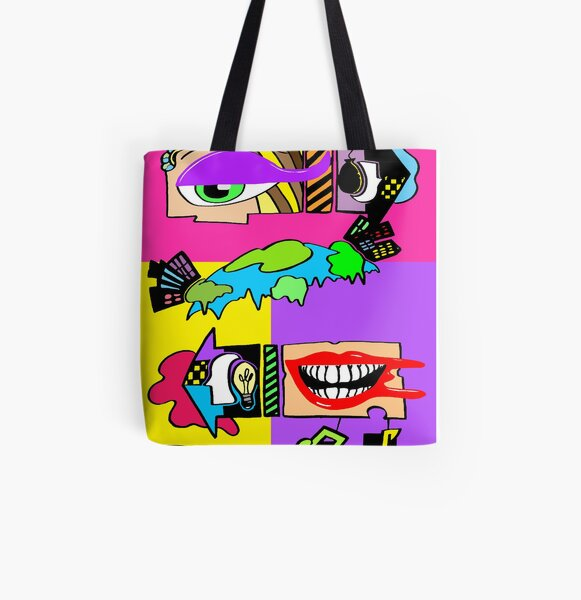 Surreal Pop Phase 4: My Mind, Your Universe (Heartbreak Relapse 2) All Over Print Tote Bag