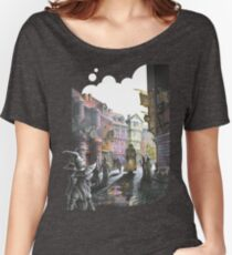 Diagon Alley Women's Relaxed Fit T-Shirt