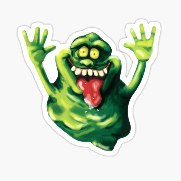 Ghastly Green Ghoulie  Sticker
