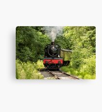 7802 Steam Locomotive Canvas Print
