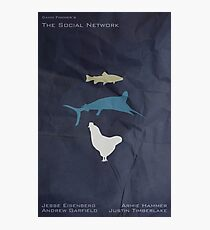 The Marlin, the Trout, and the Chicken Photographic Print