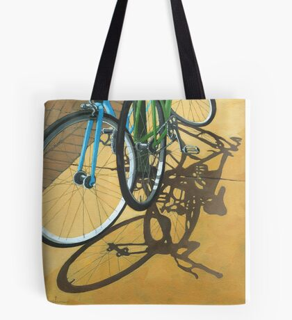 Out to Lunch - Bicycle art Tote Bag