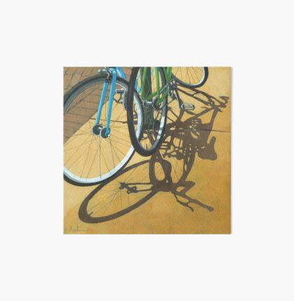 Out to Lunch - Bicycle art Art Board