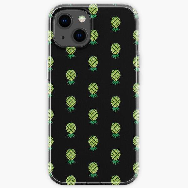 Upside Down Pineapple Swinger themed T-Shirt iPhone Soft Case