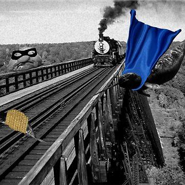 Railroad Trouble by TangoLea