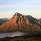 Misty Sunrise on The Buachaille by beavo