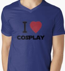 I Heart Cosplay Black Text (Clothing & Stickers) T-Shirt