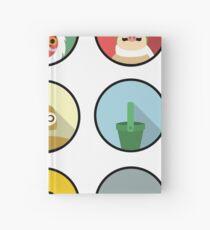 Studio Ghibli icons Hardcover Journal