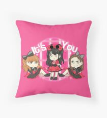 Its You Sayu Eri Aichan Throw Pillow