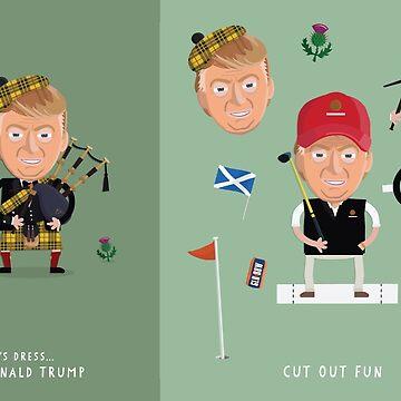 Lets Dress…Donald Trump No.2 Scotland by shufti