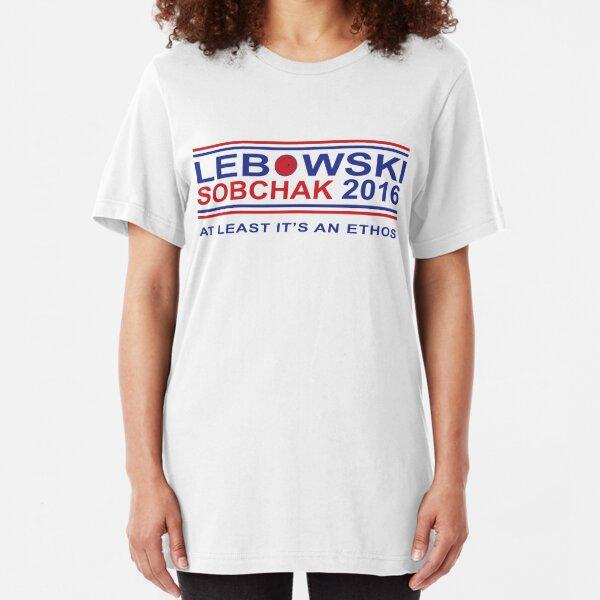 Lebowski for Prez Slim Fit T-Shirt