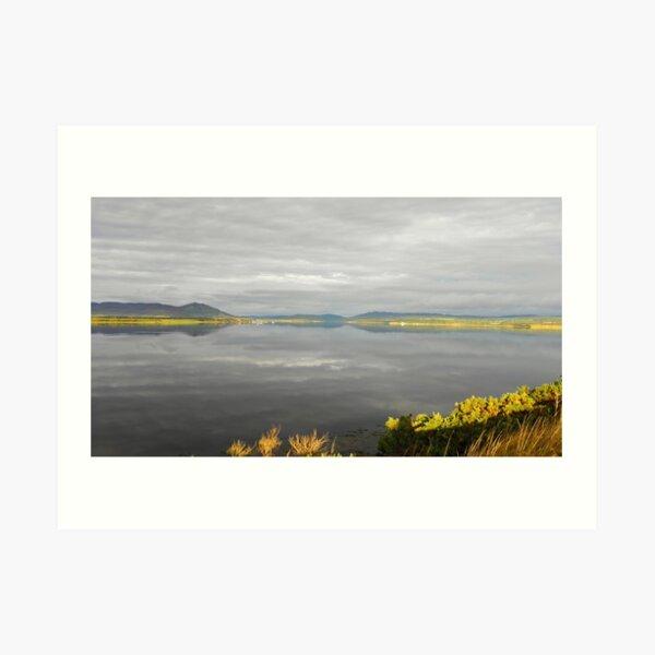 View from Dornoch Bridge Art Print