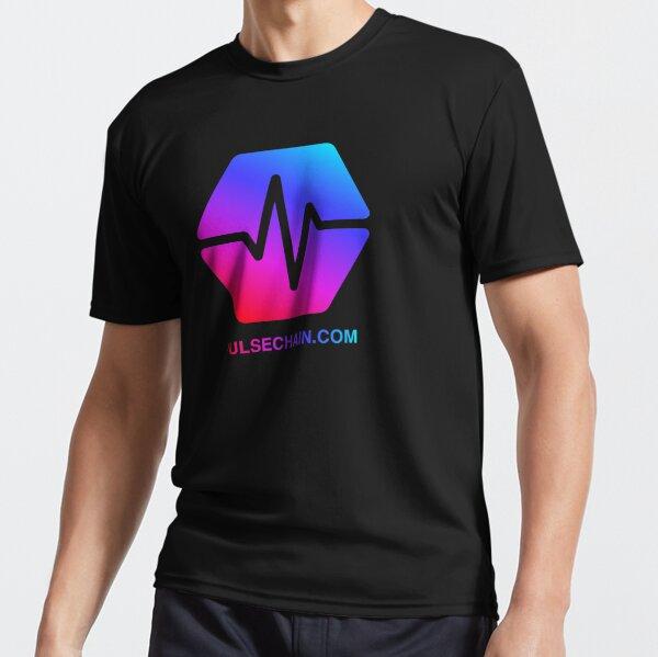 Pulse Chain Logo On Black Version 1 Active T-Shirt