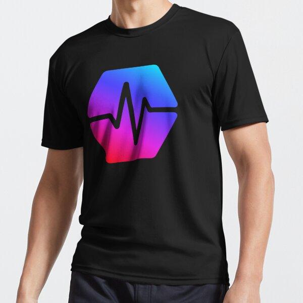 Pulse Chain Logo On Black Version 2 Active T-Shirt
