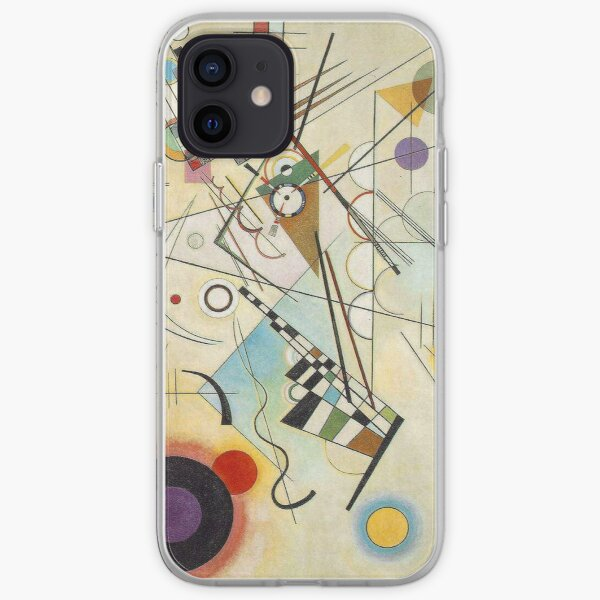 Kandinsky - Composition No. 8 iPhone Soft Case