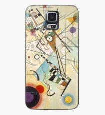 Kandinsky - Komposition Nr. 8 Hülle & Klebefolie für Samsung Galaxy
