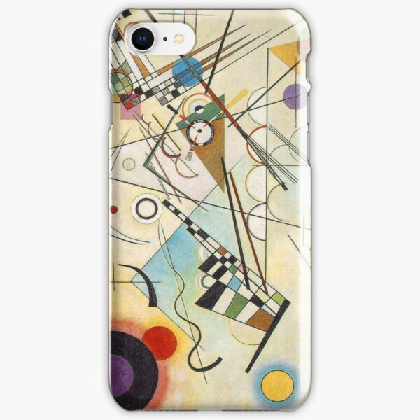 Kandinsky - Composition n ° 8 Coque rigide iPhone