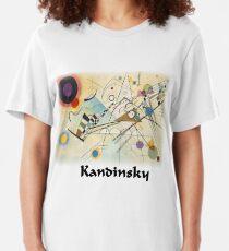 Kandinsky - Composition No. 8 Slim Fit T-Shirt