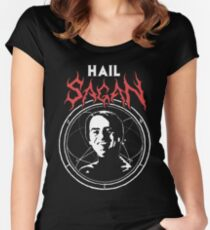 HAIL SAGAN Women's Fitted Scoop T-Shirt