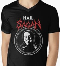 HAIL SAGAN Men's V-Neck T-Shirt
