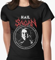 HAIL SAGAN Women's Fitted T-Shirt